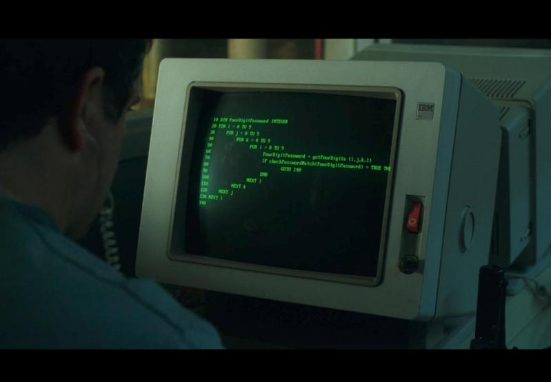 Bob Newby from Stranger Things is such a badass BASIC hacker :O