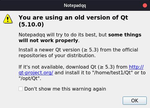 old version - Go home Notepadqq, you are drunk :/ - devRant