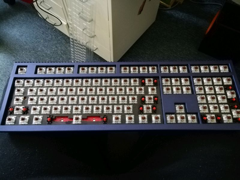 703e2c0eec6 Ducky Shine 6 SE ready for cleaning 😊 · rant nude ducky mx brown shine 6  cherry ...