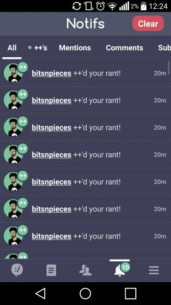 shower thanks a lot for the spree bitsnpieces for some