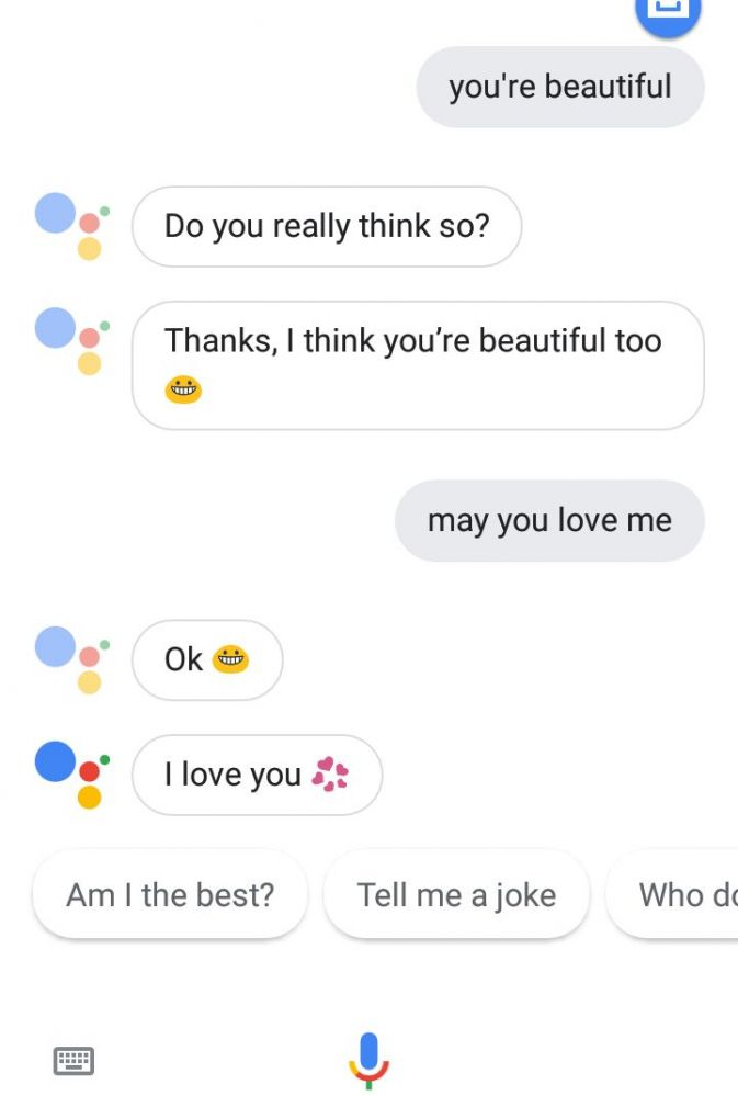 Download Do You Love Me Google Assistant Background