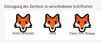 fox - I love unicode-table com for what it does, but this