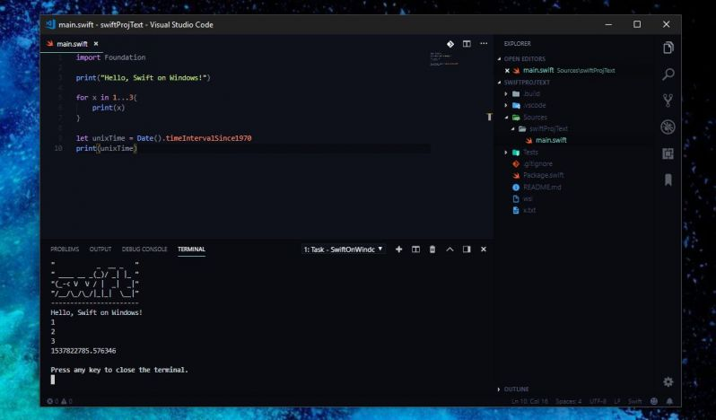 wsl - Finally I was able to compile swift on my Windows