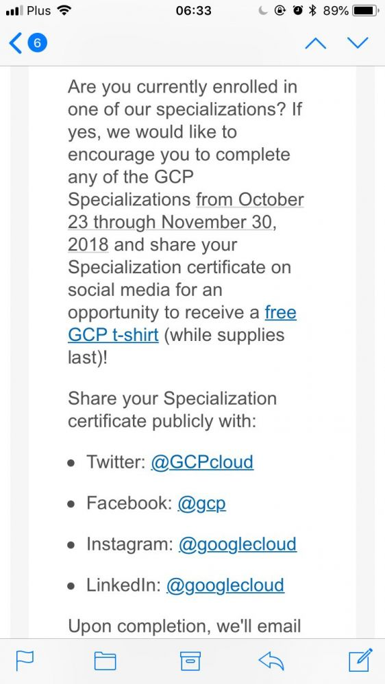 Google Google Are Giving T Shirts With Certificates Now Lol Maybe