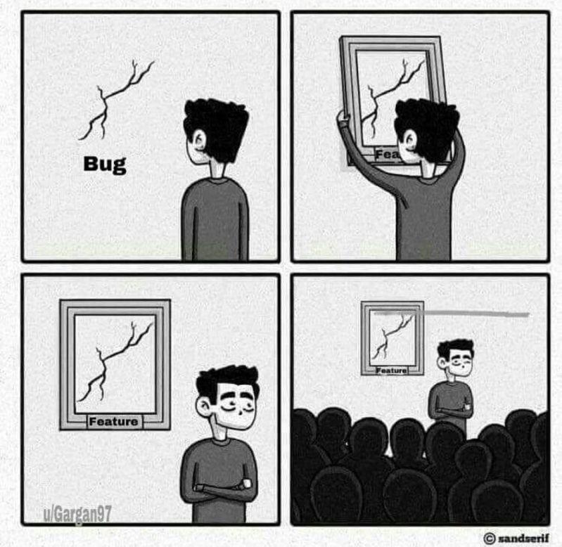 bug - During sprint review😁 - devRant