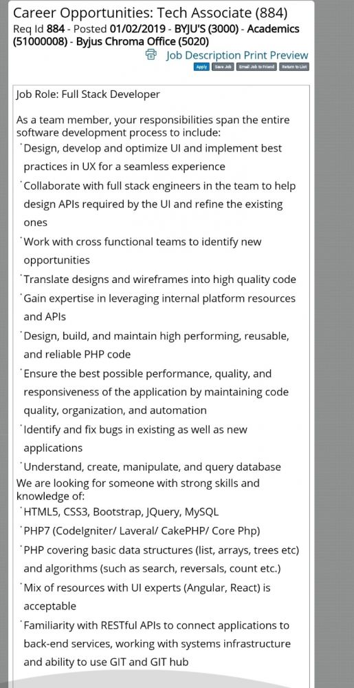 job hunting - One of my friend asked me What the hack is this