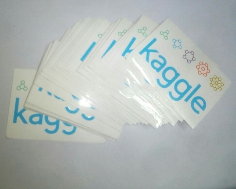 stickers - Got some stickers for my kaggle data science club