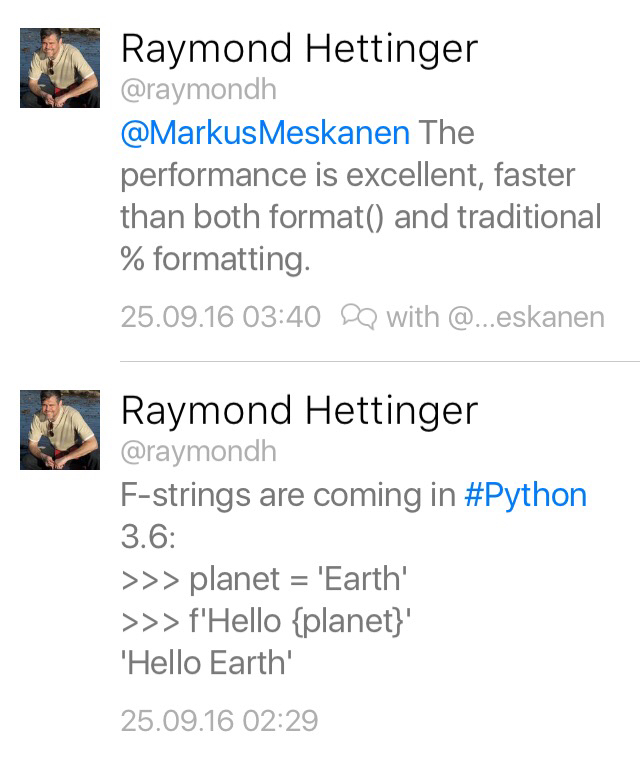 Python One Of Python 3 6 S New Features Community U Devrant