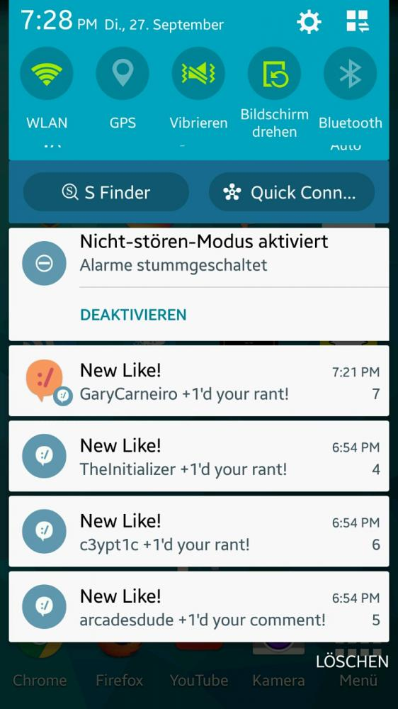 devrant - Why do the notifications look different? call me