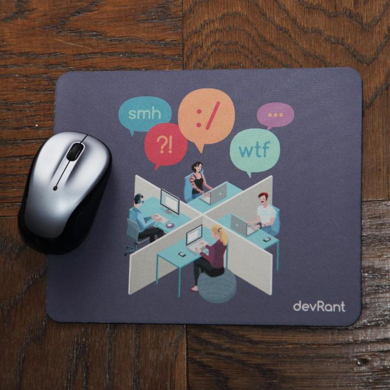 swag fun new devrant mouse pads to help you whistle while you work