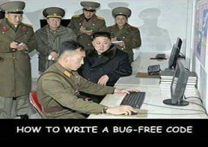 how to write bug free code