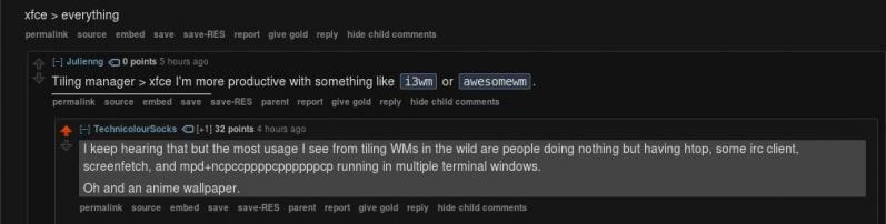 linux_circlejerk - r/Unixporn in a nutshell Shamelessly