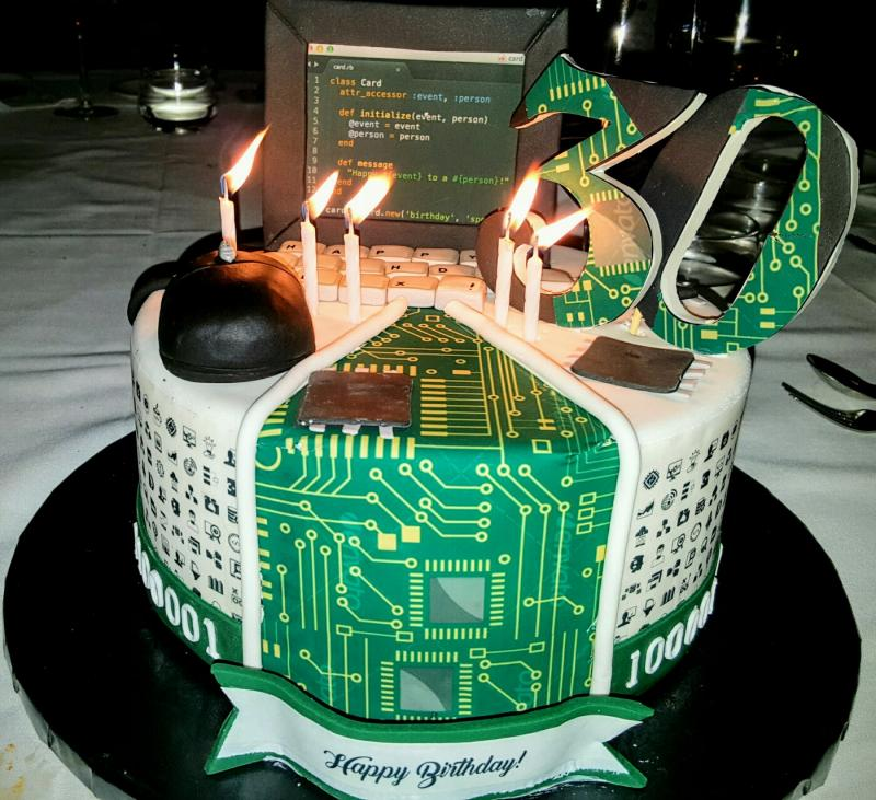 Remarkable Cake Got The Best Cake For My 30Th Birthday Only If My Wife Funny Birthday Cards Online Inifodamsfinfo