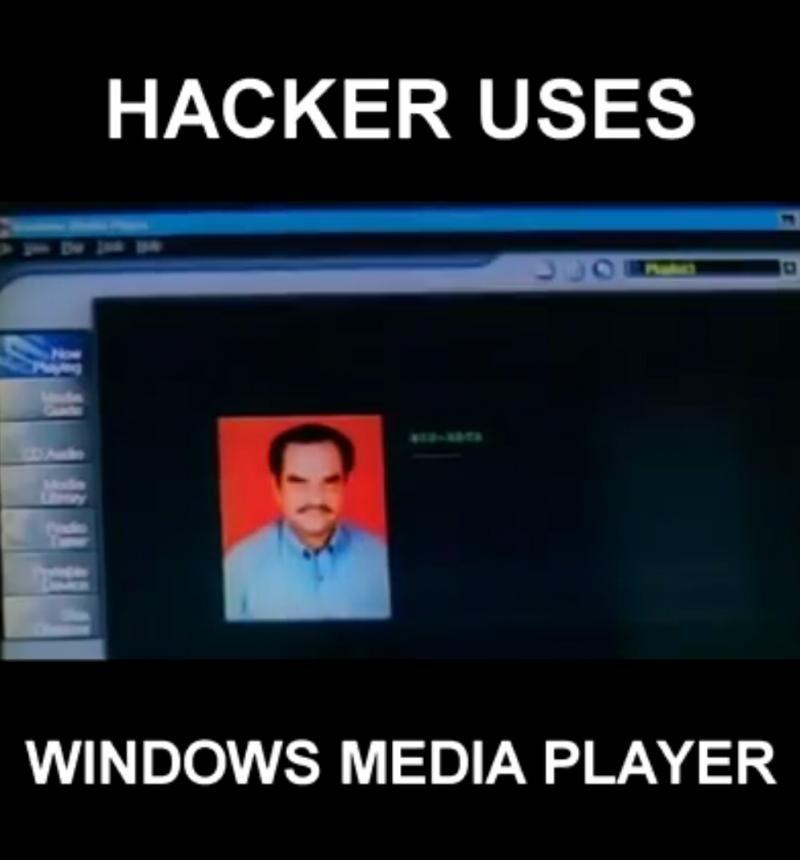 hacking using windows media player