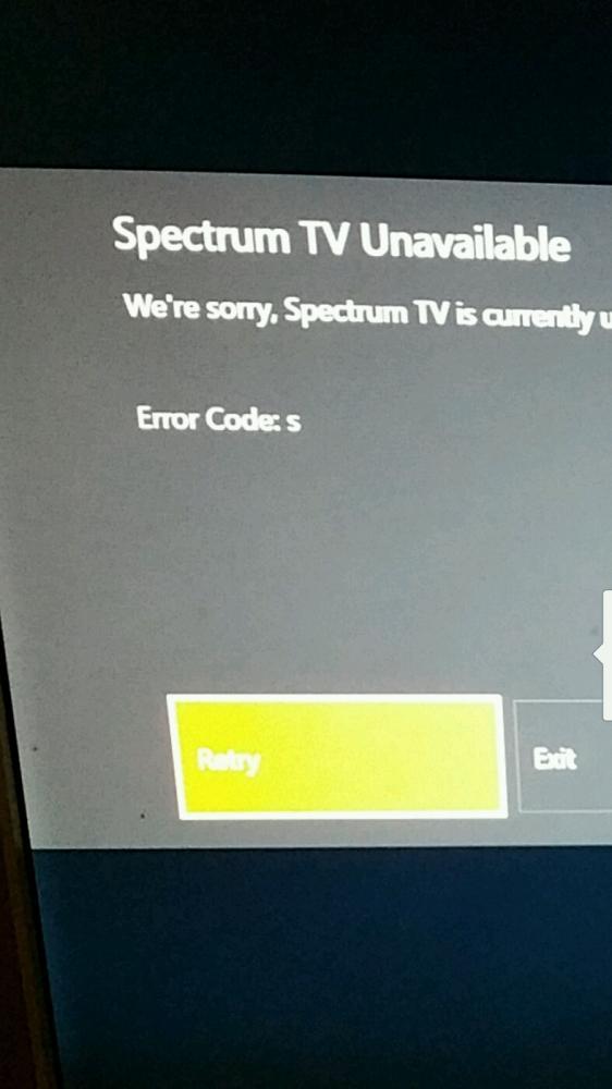 Spectrum Error Codes