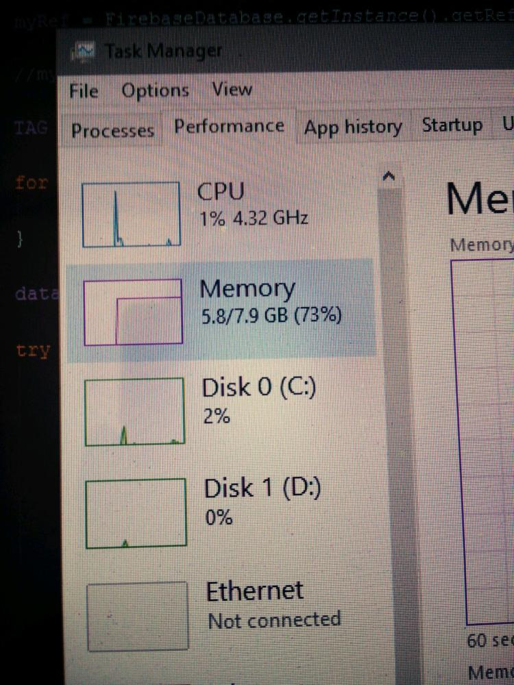 ram - Android Studio + Emulator + Chrome I think 8GB is sufficient