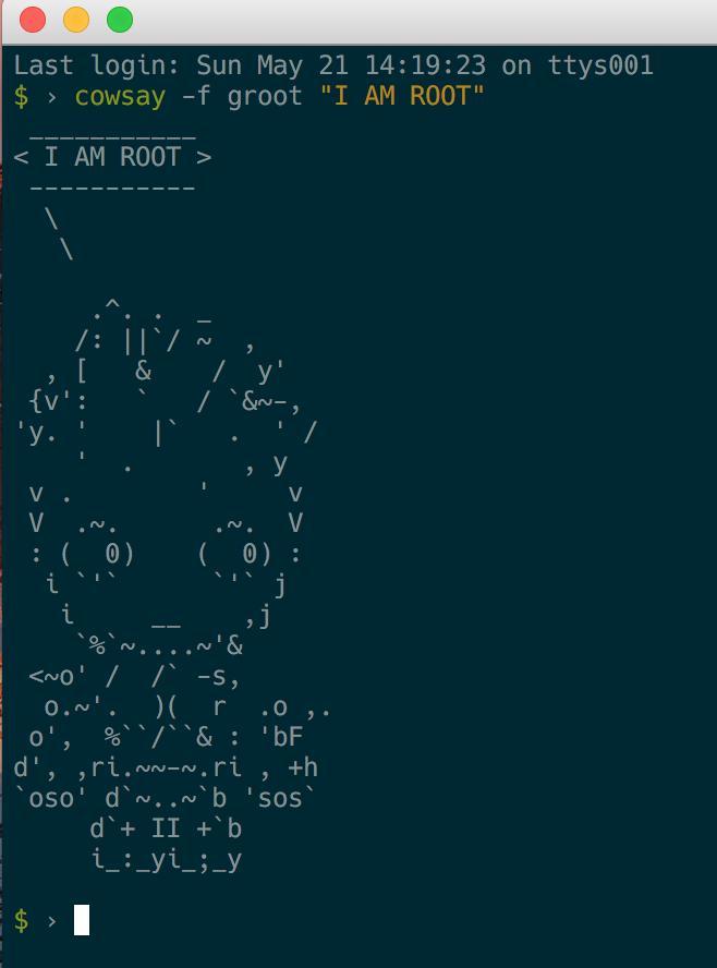 root - I AM ROOT! - devRant
