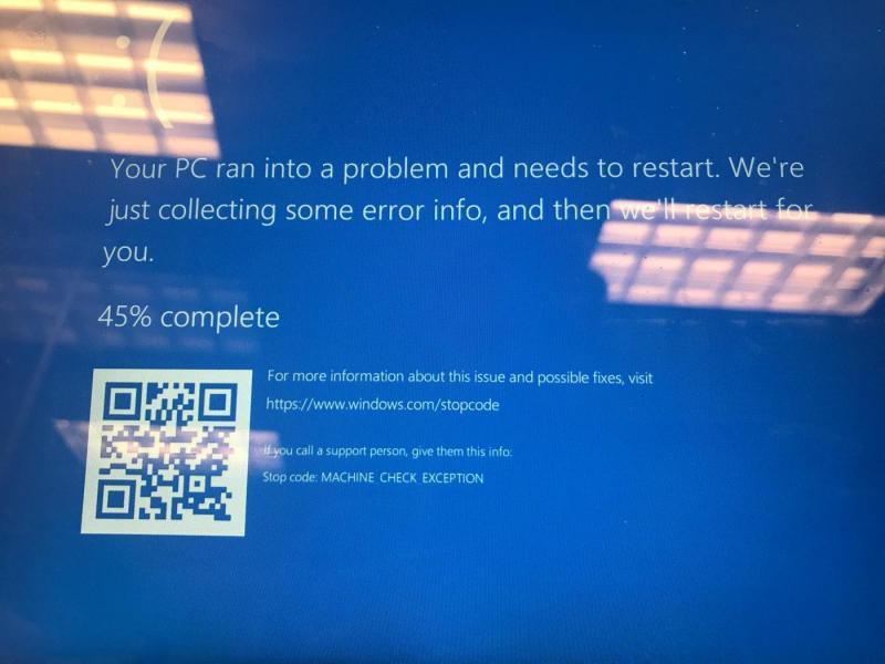 Windows com stop code windows 10 | Windows Stop Code  2019-03-27