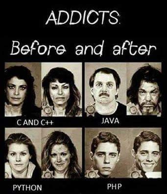 If Programming Was An Addiction Devrant