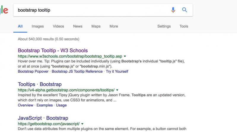take it easy even you do not like w3schools as first result