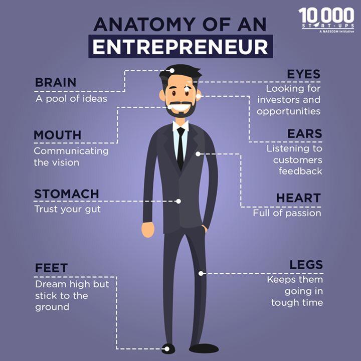 entrepreneurs - Anatomy of an entrepreneur!!! - devRant