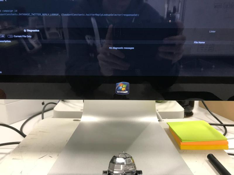 imac how to connect pc monitior ibm thinkvision